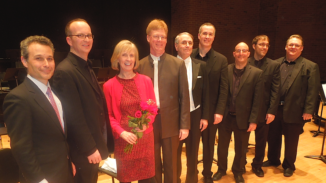 """Quintet Matinee"" premiere with the Atlantic Brass Quintet and UConn Fine Arts faculty"