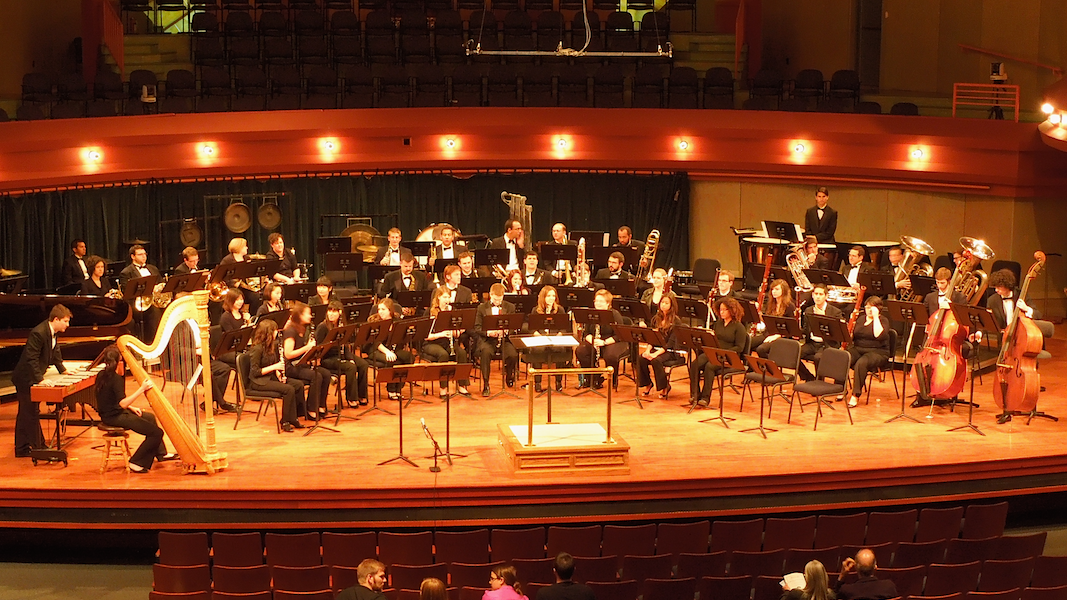 "North Texas Performance of ""Symphony No. 2 - Epitaphs Unwritten"""